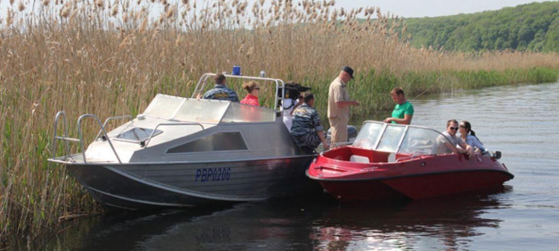 Два катера столкнулись в районе села Чертовицы на реке Воронеж